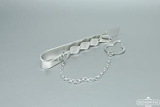 Sidabrinis kaklaraiščio segtukas - KSV009