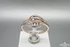 Auksinis žiedas - ZDA016