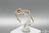 Auksinis žiedas - ZDA017