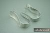 Itališki sidabriniai auskarai - AUM007