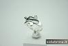 Tamsinto sidabro žiedas - ZDM232