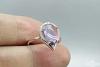 Žiedas su ametistu - ZDM1338