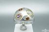 Žiedas su natūraliais akmenimis - ZDM812