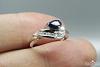 Žiedas su natūraliu akmenimi - ZDM1048
