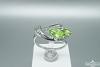 Žiedas su peridotu - ZDM1154