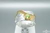 Žiedas su peridotu - ZDM1298