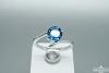 Žiedas su topazu - ZDM1457
