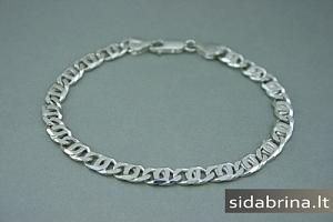 Vyriška sidabrinė apyrankė - APV055