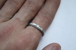 Apvalus žiedas - ZDV012