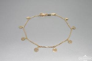 Auksinė apyrankė - AUP010
