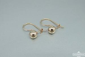 Auksiniai auskarai - AUA073