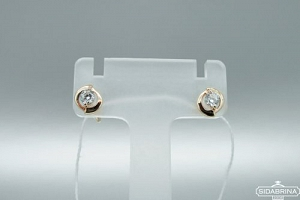 Auksiniai auskarai - AUA080