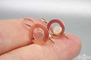 Auksiniai auskarai - AUA105