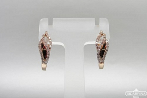Auksiniai auskarai - AUA106