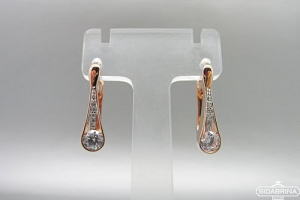 Auksiniai auskarai - AUA145