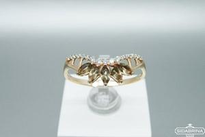 Auksinis žiedas - ZDA014