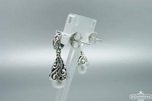 Auskarai su perlais - AUM1594