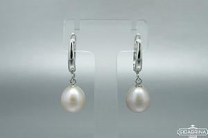 Auskarai su perlais - AUM2117