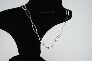 Paauksuotas sidabrinis kolje - KOL017