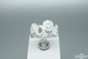 Sidabrinis žiedas - ZDM1382