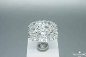 Sidabrinis žiedas - ZDM1388