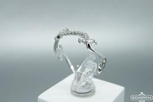 Sidabrinis žiedas - ZDM1436