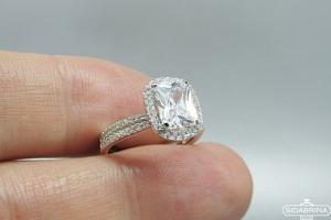 Sidabrinis žiedas - ZDM1444