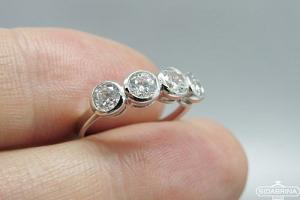Sidabrinis žiedas - ZDM1450