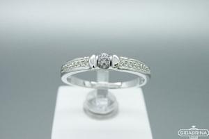 Sidabrinis žiedas - ZDM1455