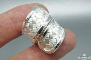 Sidabrinis žiedas - ZDM781