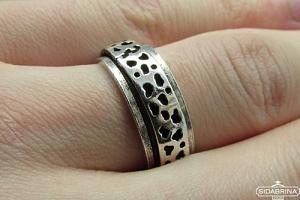 Sidabrinis žiedas - ZDV107