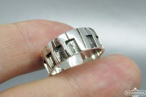 Sidabrinis žiedas - ZDV111