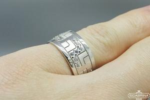 Sidabrinis žiedas - ZDV133