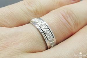 Sidabrinis žiedas - ZDV136
