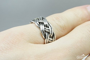 Sidabrinis žiedas - ZDV182