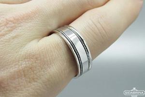 Sidabrinis žiedas - ZDV183