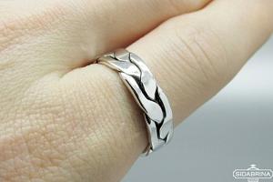 Sidabrinis žiedas - ZDV192