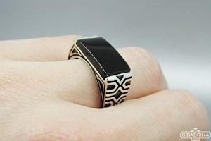 Sidabrinis žiedas - ZDV201