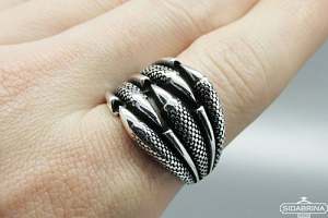 Sidabrinis žiedas - ZDV209