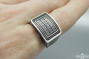 Sidabrinis žiedas - ZDV216