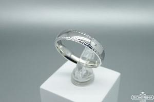 Sidabrinis žiedas - ZDM1539