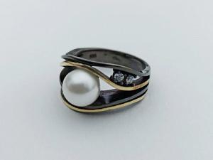 Sidabrinis žiedas - ZDM1585