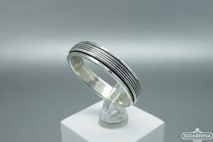 Sidabrinis žiedas - ZDV228