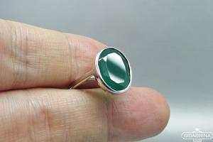 Žiedas su agatu - ZDM1542