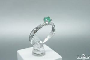 Žiedas su berilu - ZDM1334
