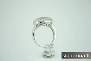 Žiedas su cirkoniais - ZDM157