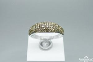 Žiedas su cirkoniais - ZDM1313