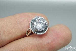 Žiedas su cirkoniu - ZDM1093