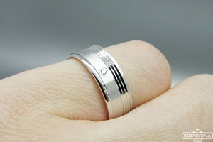 Žiedas su cirkoniu - ZDM1131