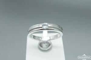 Žiedas su cirkoniu - ZDM1324